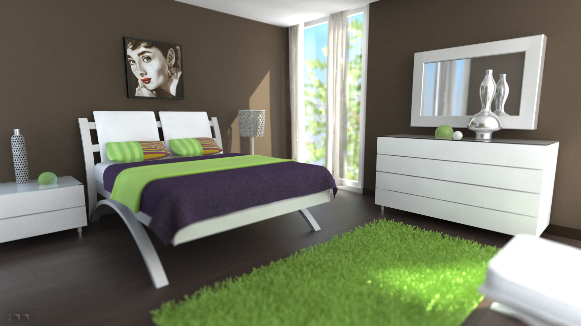 Modern Bedroom - 2013