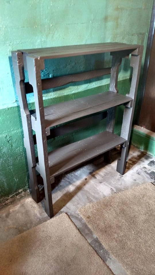 Reclaimed Wood Shelf - 2016