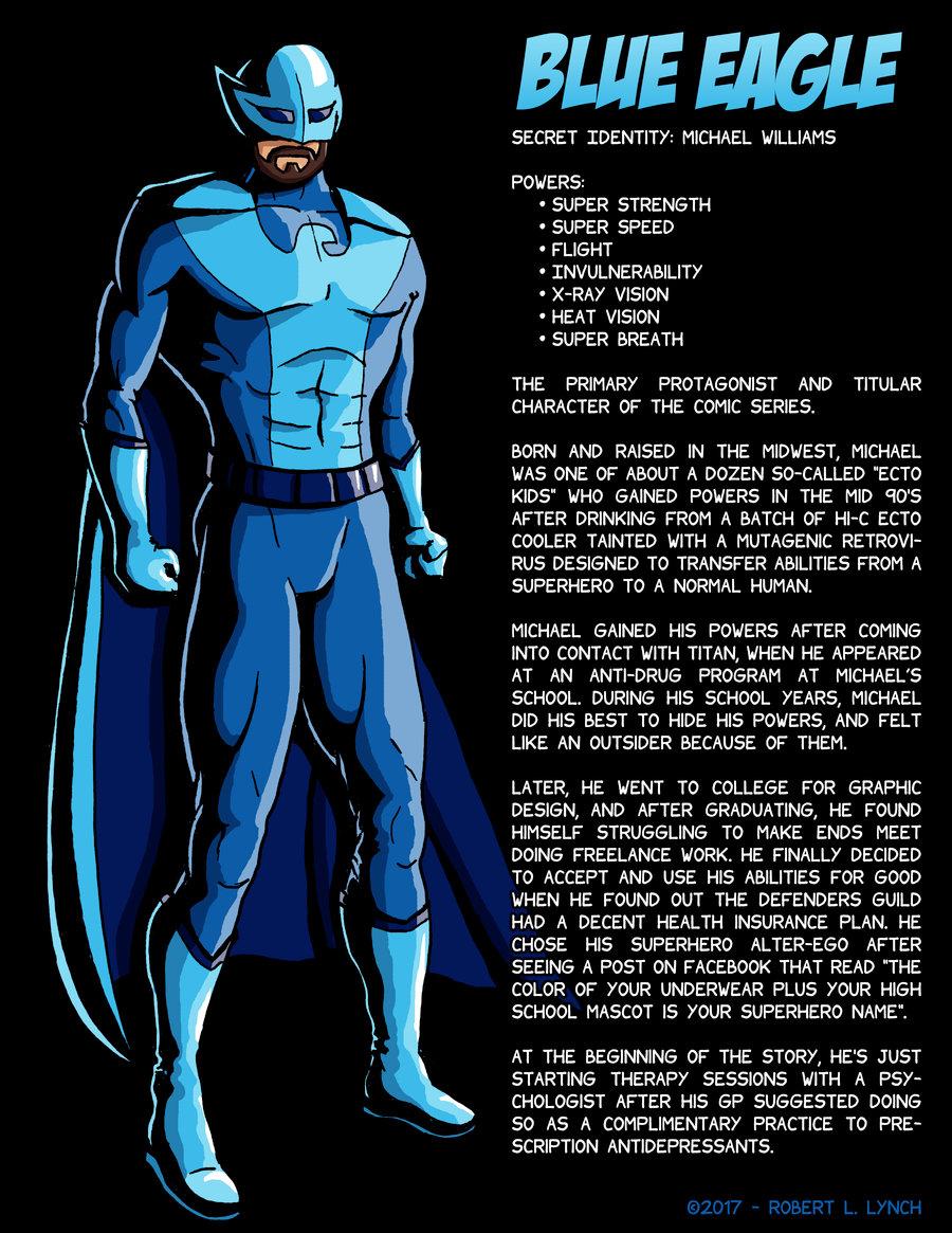 Blue Eagle - Character Profile - 2017